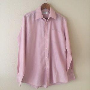 VTG Yves Saint Laurent Monogram Dress Shirt 16